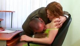 See on a mouthwatering sample is getting her enticed by an old fellow